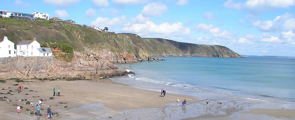 There are fantastic coastal walks from Mevagissey and Gorran Haven along the south west coast path