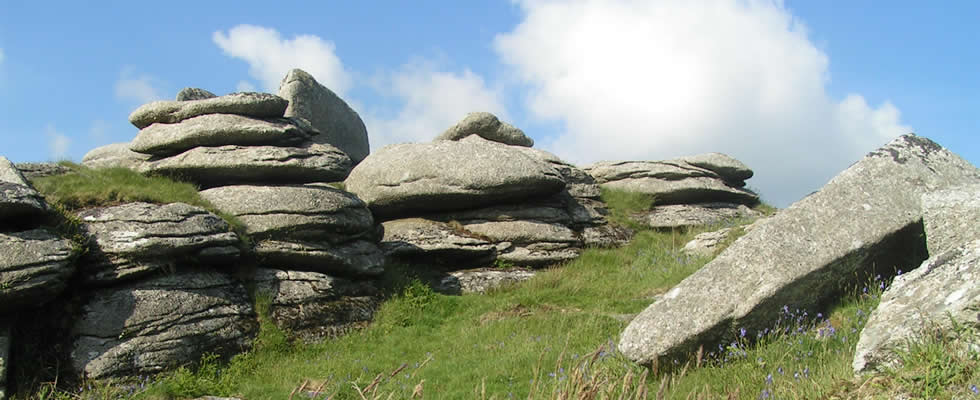 Helman's Tor dominates the lovely Luxulyan valley - a real breath of fresh air for walkers to enjoy!